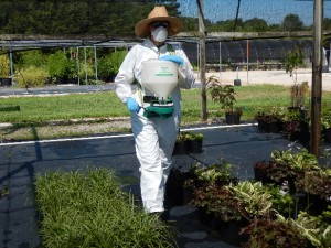 Granula herbicide application ABarker