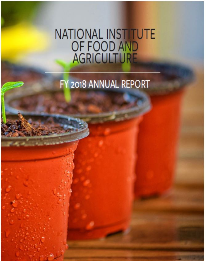 NIFA Front Cover of Report